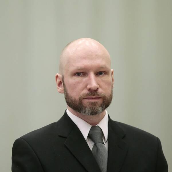 Den norske terroristen Fjotolf Hansen, tidigare Anders Behring Breivik