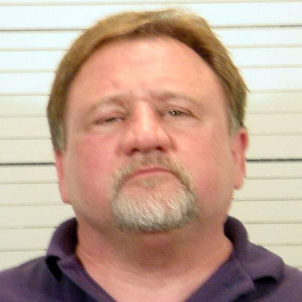 James T Hodgkinson blev fotograferad 2006 i samband med att han greps av polisen.