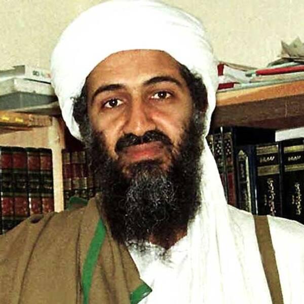Usama bin Laden fotograferad i 1998 i Afghanistan.