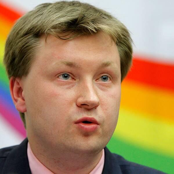 Ryska HBT-aktivisten Nikolai Alexeyev är en av de som anmälts på grund av sin läggning.