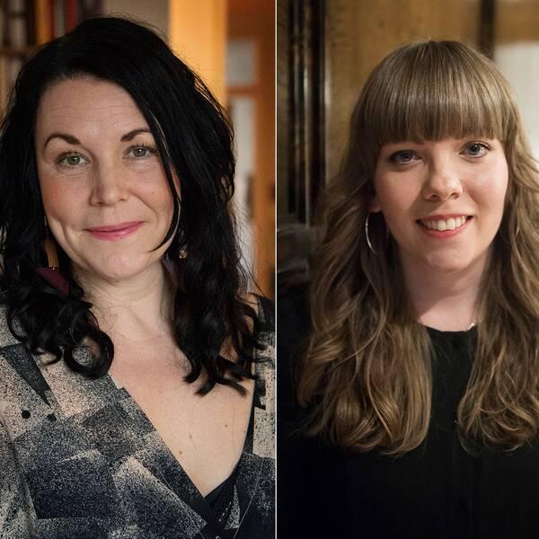 Maria Sveland, Jenny Wrangborg och Lo Kauppi är några av deltagarna på ETC:s bokmässa.