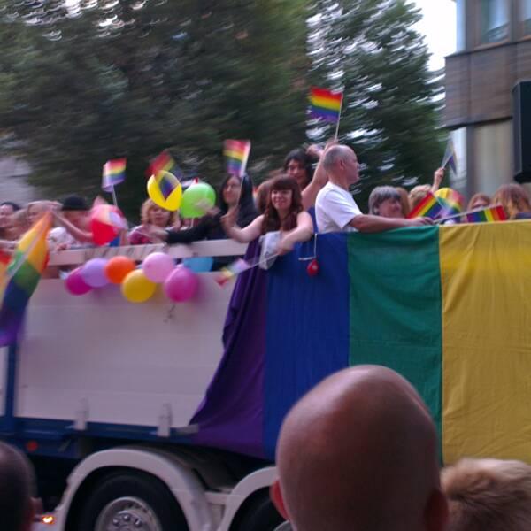Prideparaden genom Örebro 2013