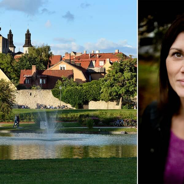 Statsvetaren Jenny Madestam förklarar varför Almedalen är en viktig arena för politiska aktörer.