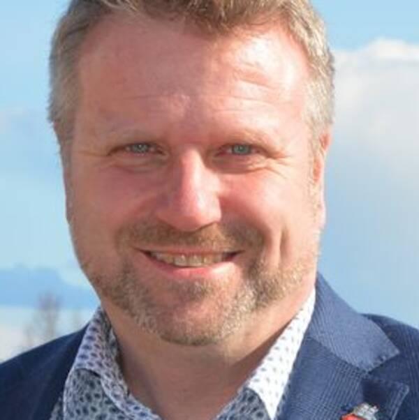 Anders Johansson (C), kommunstyrelsens ordförande i Mönsterås.