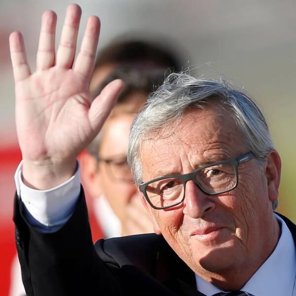 EU-kommissionens ordförande Jean-Claude Juncker varnar Trump för att införa importtullar