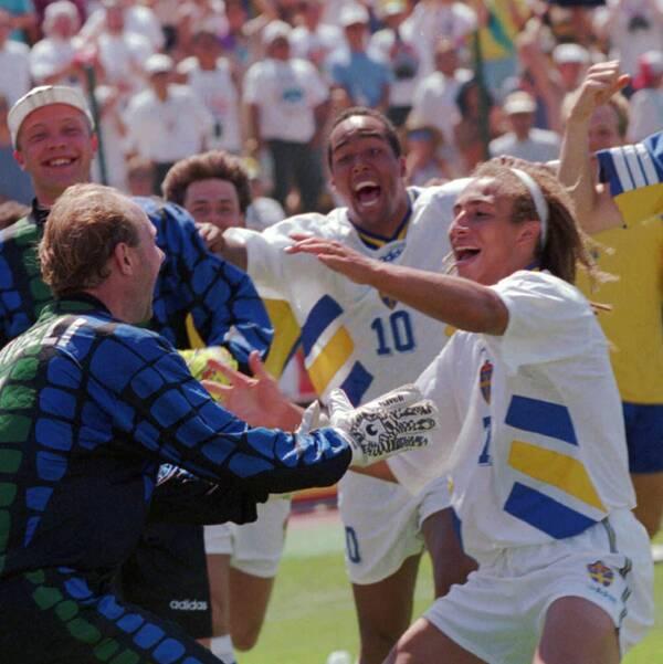 Se 1994 års VM-krönika då Sverige tog brons.