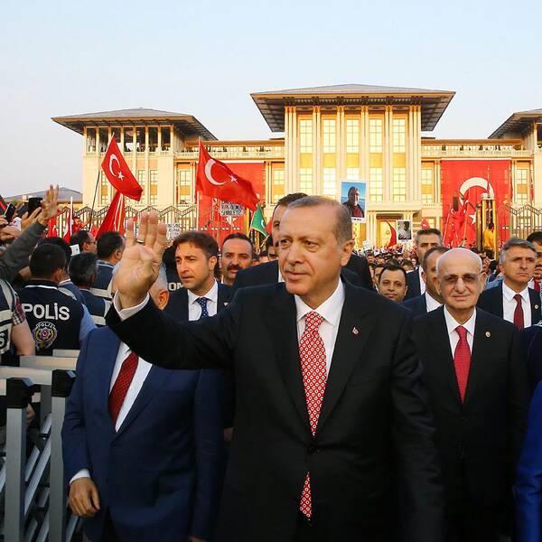 Turkeits president Erdogan