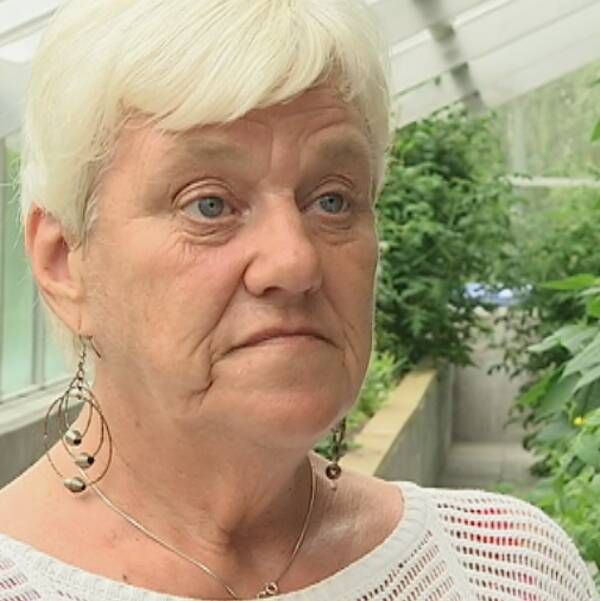 Grannen Lisbeth Eliasson.