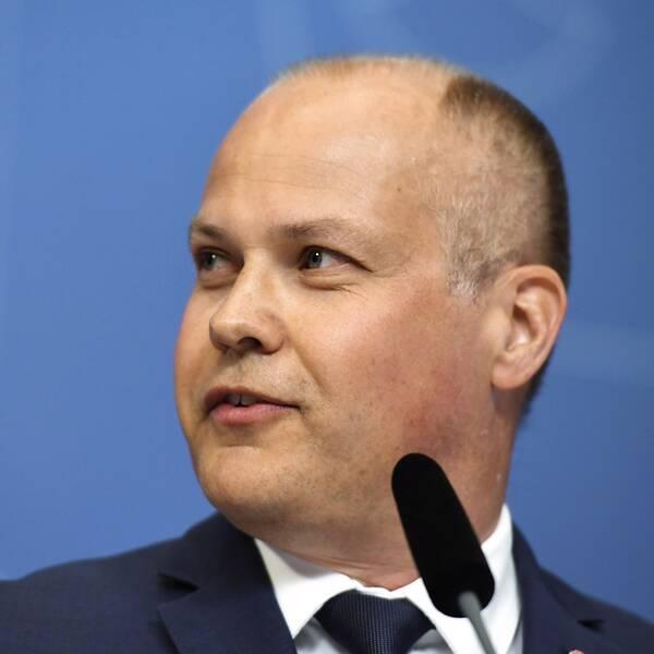 Morgan Johansson (S) ny inrikesminister.