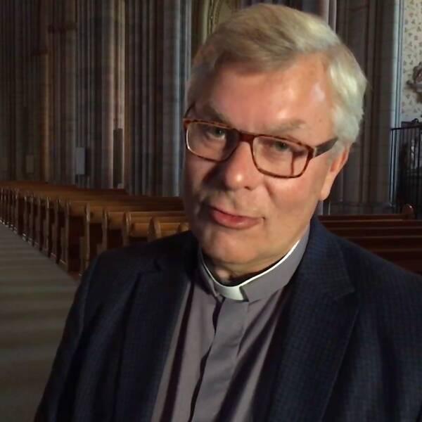 Lars Åstrand domkyrkokaplan i Uppsala domkyrka.