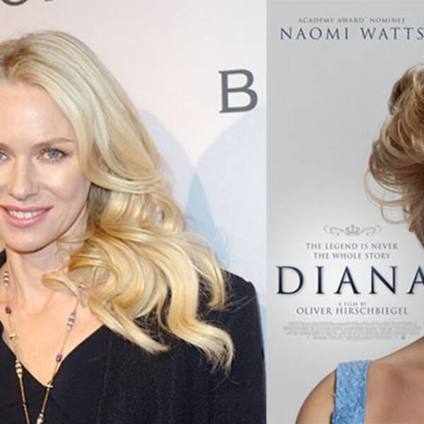 Naomi Watts spelar Diana i filmen.