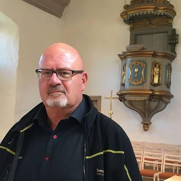 Ulf Ottosson, kyrkogård- och fastighetsföreståndare i Södra Ölands pastorat.