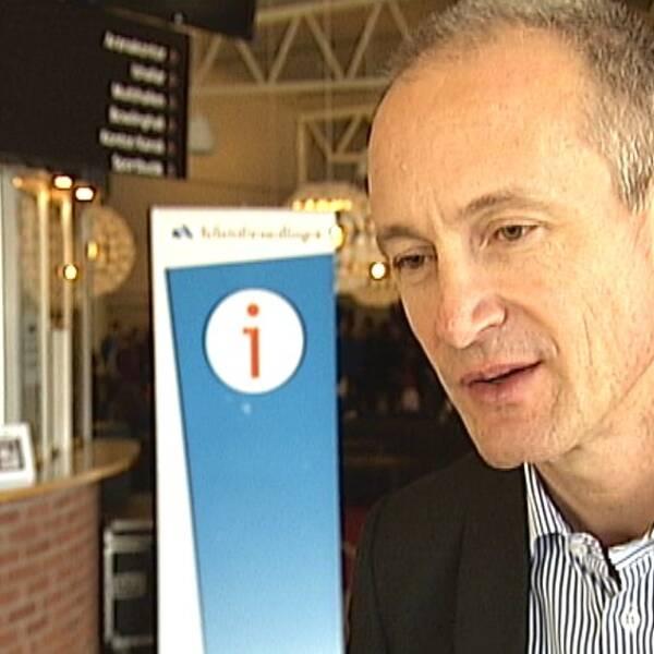 Clas Olsson, generaldirektör Arbetsfömedlingen