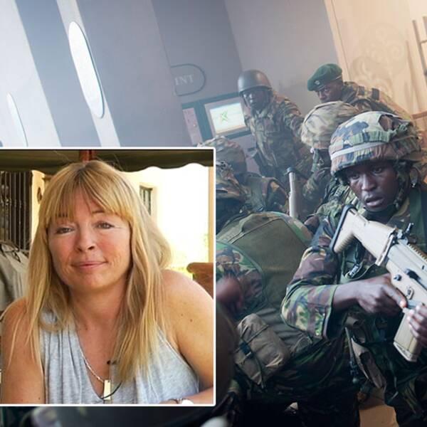 Christina Wilson drabbades av plundringen efter terrordramat.