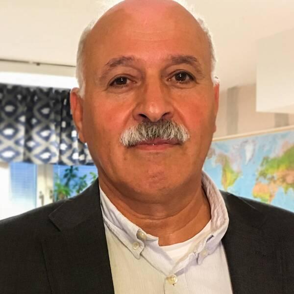 Amil Sarsour är ordförande för Samarbetsorganisationen för Invandrarföreningar i Uppsala, SIU.