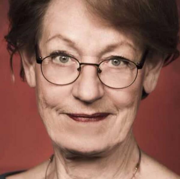 Gudrun Schyman, partiledare Feministiskt initiativ