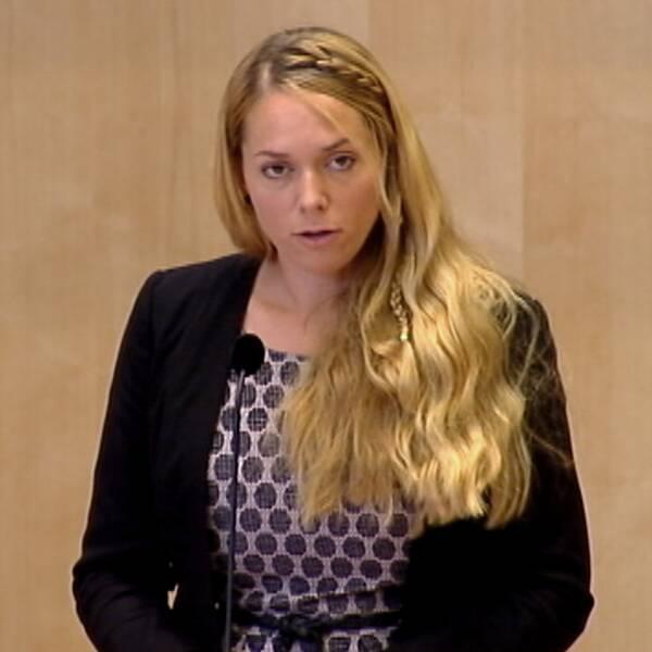 Johanna Jönsson (C) , riksdagsledamot
