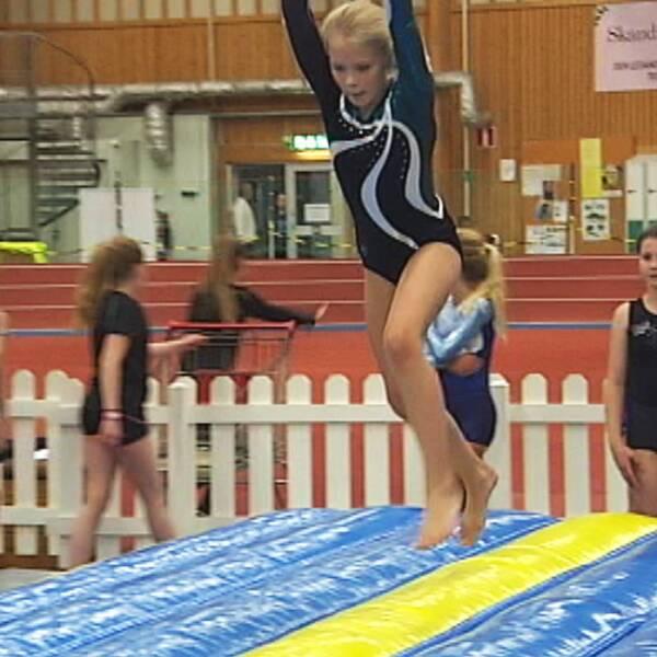 Gymnastik är en populär aktivitet bland Karlstads unga