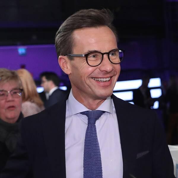 Ulf Kristersson (M), Annie Lööf (C) och Jimmie Åkesson (SD).