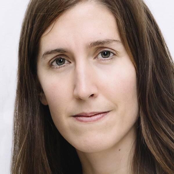 Agnes Hellström, ordförande, Svenska Freds och Skiljedomsföreningen