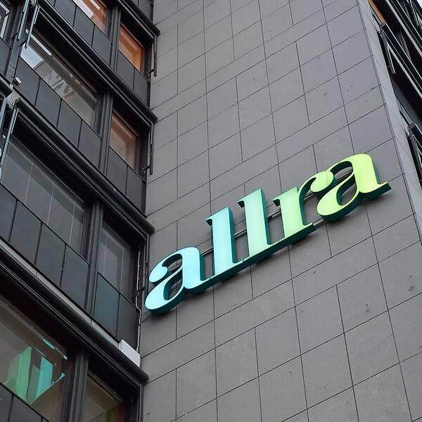 Allras huvudkontor på Sveavägen i Stockholm (arkivfoto)