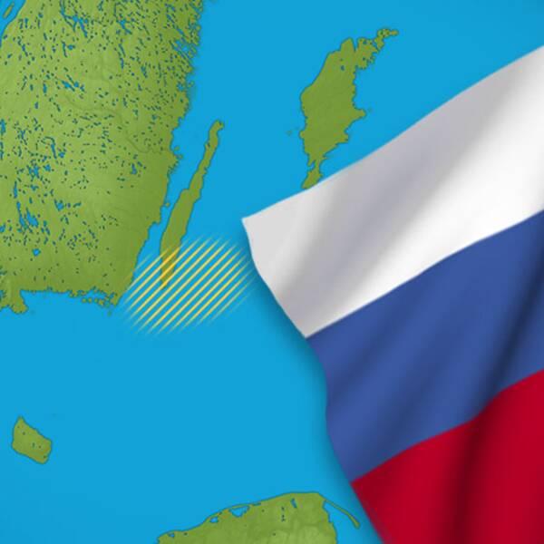 I förra veckan övade ryska bombflyg i Östersjön, bland annat vid Ölands södra udde.