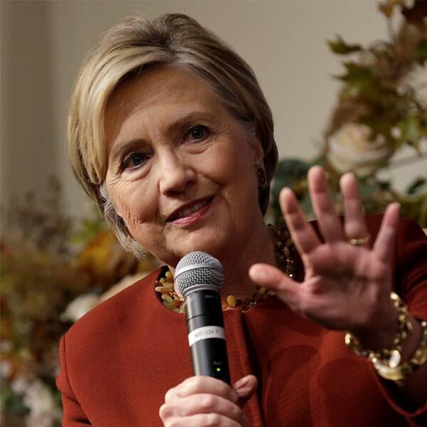 Hillary Clinton och Donna Brazile