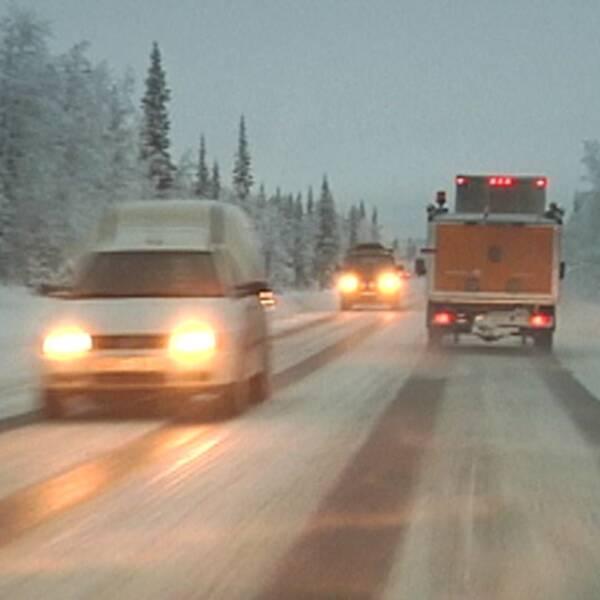 E10 – en av Sveriges farligaste vägar.