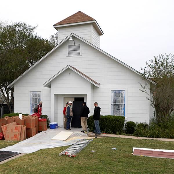Kyrkan rivs – minnesplats planeras