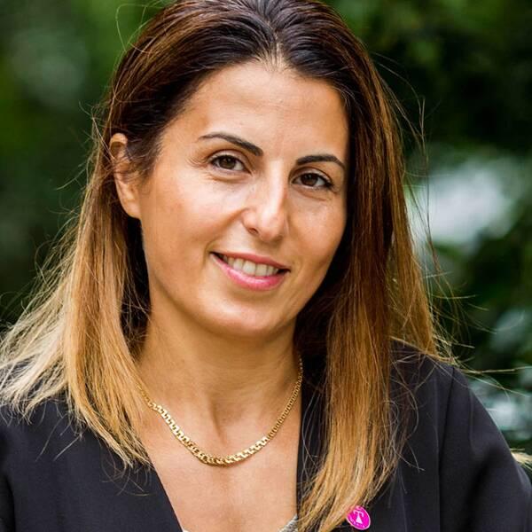Porträtt av Mariet Ghadimi.