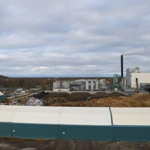 Fortum waste solutions anläggning i Norrtorp.