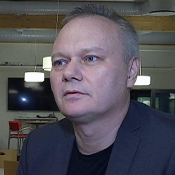 Kenneth Bodin, ordförande i föreningen och ansvarig utgivare.