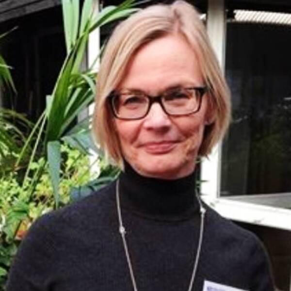 Maria Lachonius, verksamhetschef inom Sahlgrenska beskriver en lugnare situation på sjukhuset.