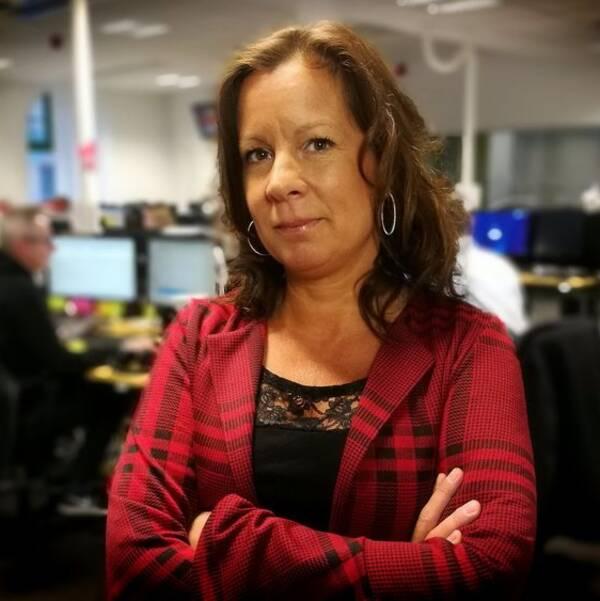 Nina Funke, redaktionschef och ansvarig utgivare på SVT Dalarna.
