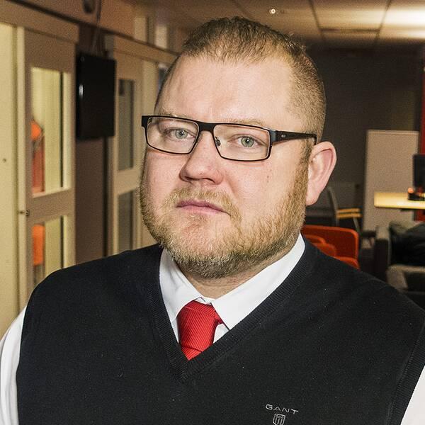 Anders Ingvarsson, chefredaktör för Mittmedias tidningar i Hälsingland och helahälsingland.se