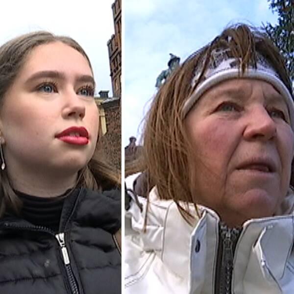 Krenare Sahini, Sofia Andersén och Anneli Ekstedt har påverkats av våldtäktslarmen i Malmö.