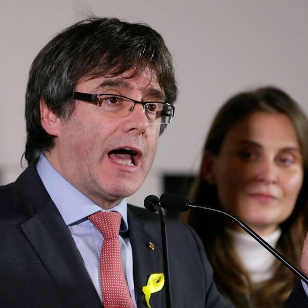 Kataloniens förre regionpresident Carles Puigdemont.