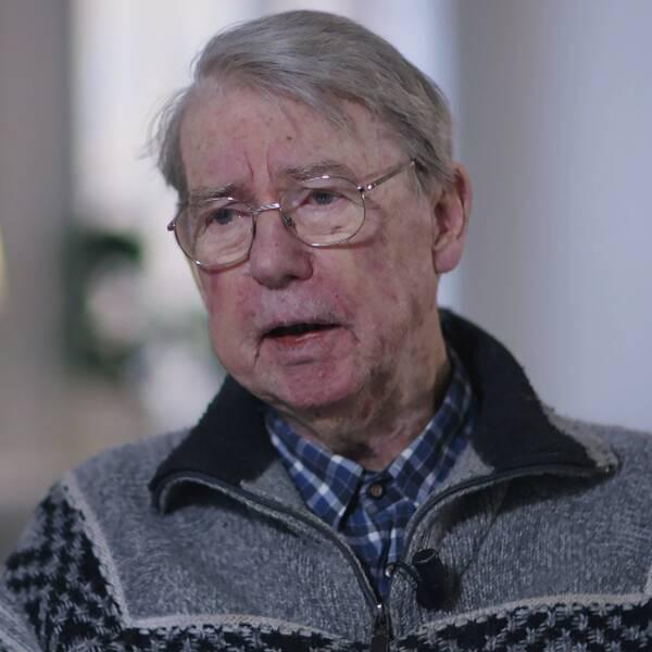 Nils Fischerström, 83, har fått hjälp mot sin depression på S:t Görans sjukhus i Stockholm.