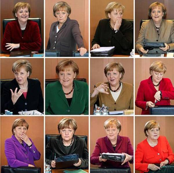 Angela Merkel går in på sin fjärde mandatperiod som förbundskansler. Bilderna visar henne från 2005 fram till 2018.