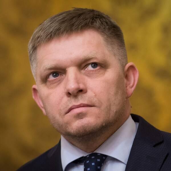 slovakiens premiärminister Robert Fico
