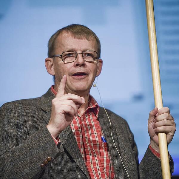 Hans Rosling arbetade till sin död med den nya boken Factfulness.