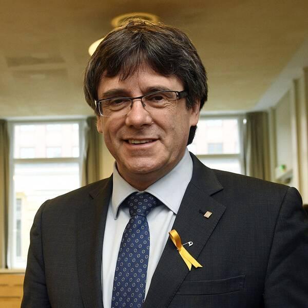 Kataloniens ex-president Carles Puigdemont.