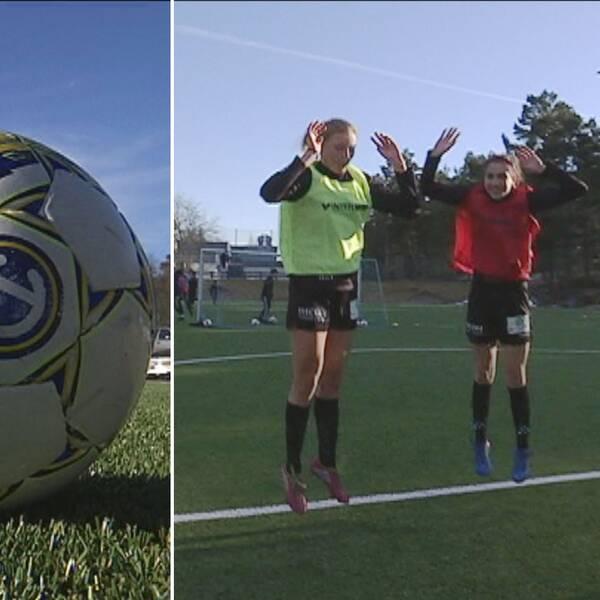 fotboll, fotbollsspelare som hoppar