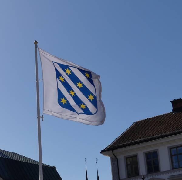 Söderköpings kommunvapen flagga logga kommun