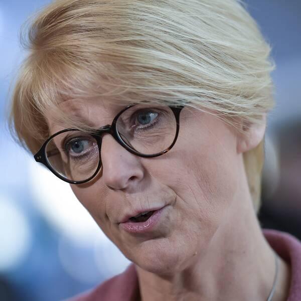 Moderaternas ekonomisk-politiska talespersonElisabeth Svantesson.