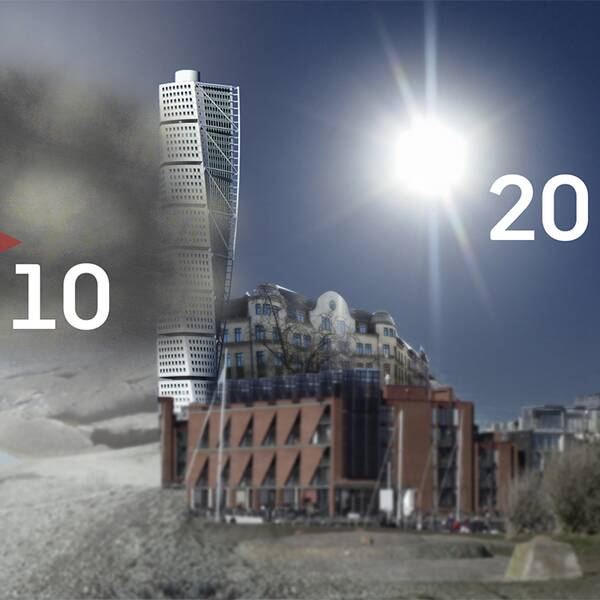 Ibland är det en hårfin skillnad på våren mellan 20-gradig sol och 10-gradig dimma.