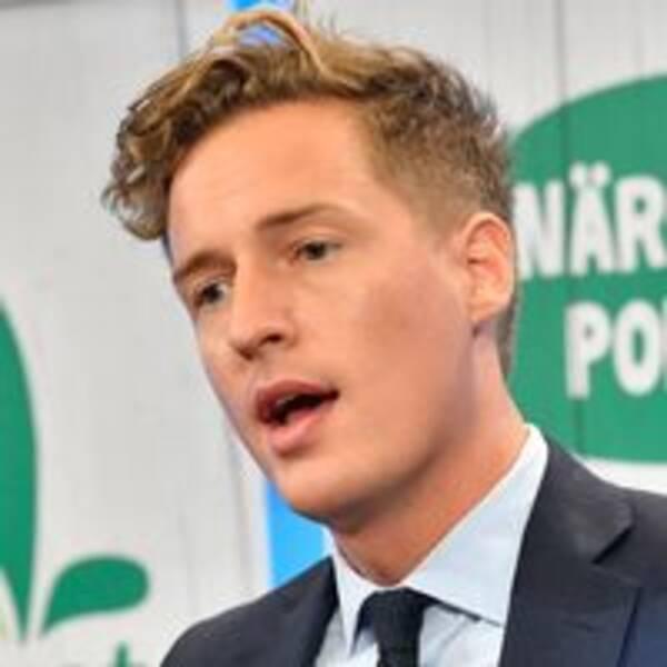 Emil Källström Centerpartiets ekonomisk-politisk talesperson.