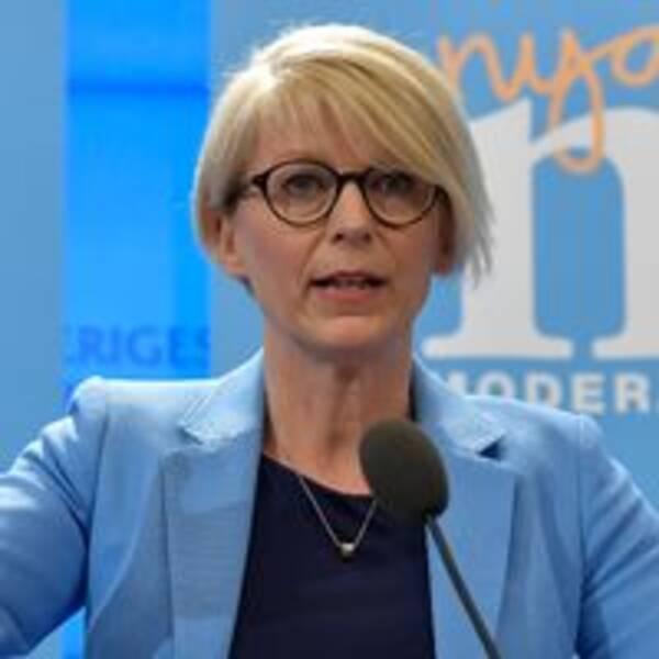 Elisabeth Svantesson, moderaternas ekonomisk-politiska talesperson.