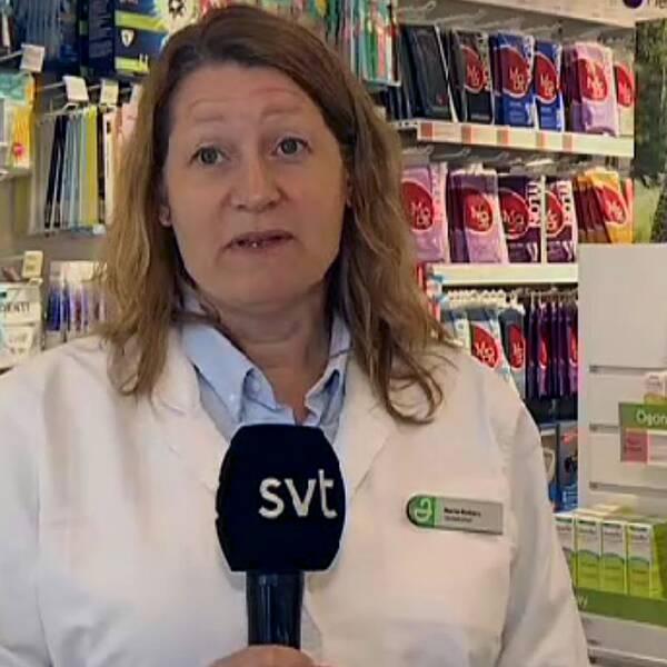Maria Moberg, apotekschef i Kristinehamn, ger sina bästa tips som gör det lite lättare att leva med allergin