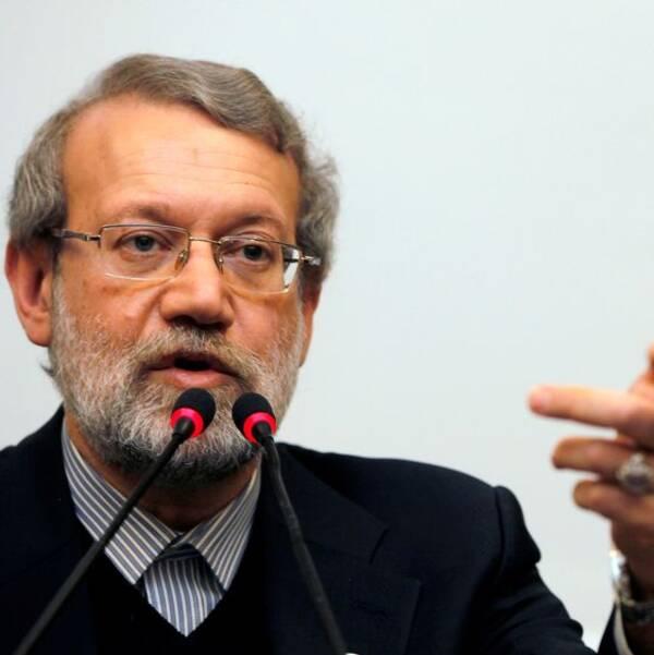 Irans talman Ali Larijani